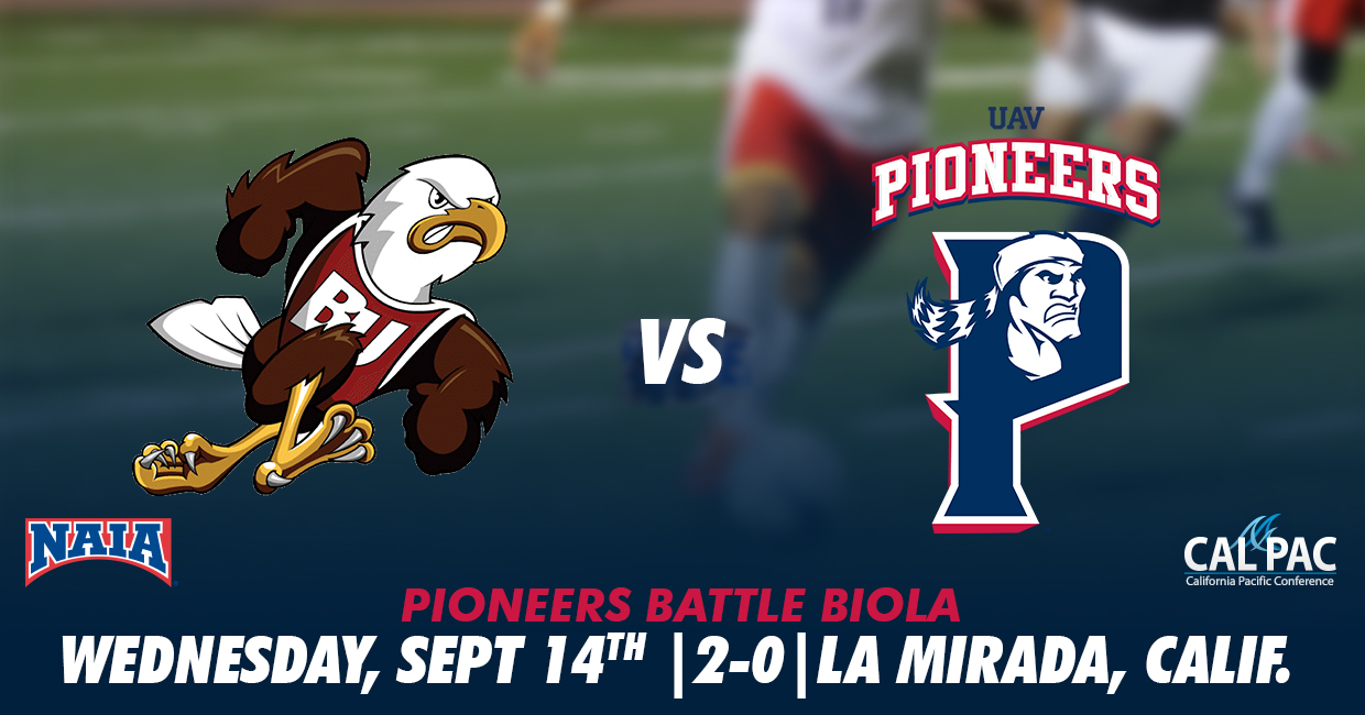 Photo for Pioneers Fight to the End Versus Biola