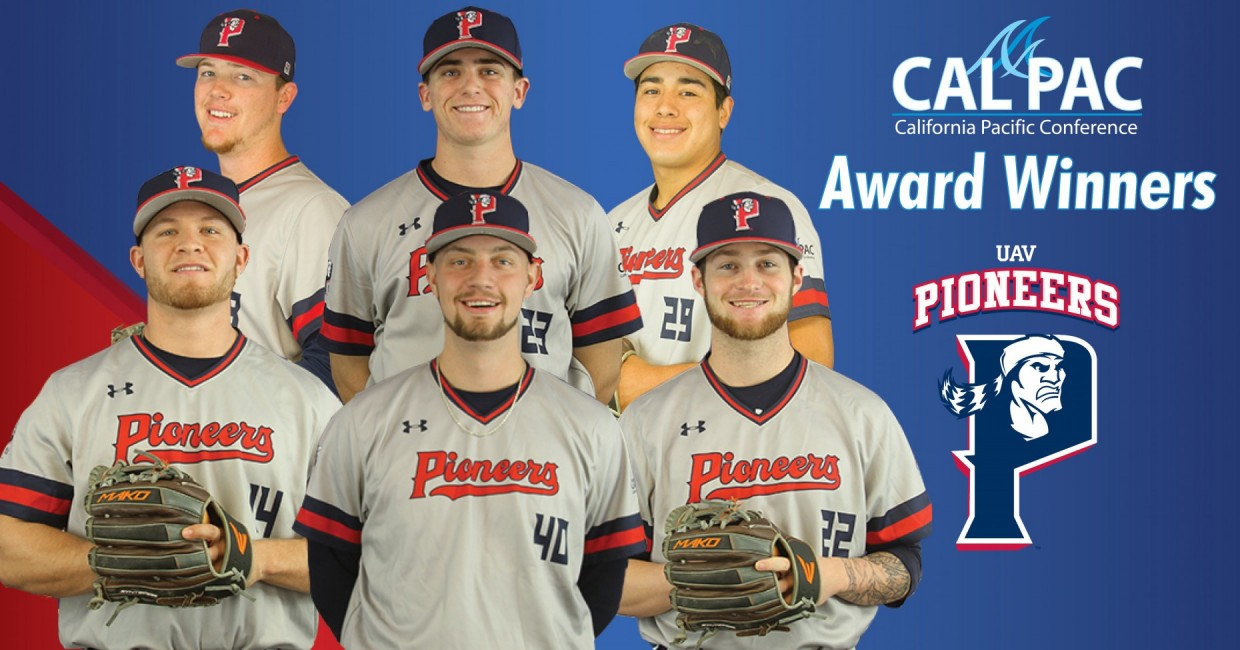 Photo for Pioneers Baseball Rack Up CalPac Awards