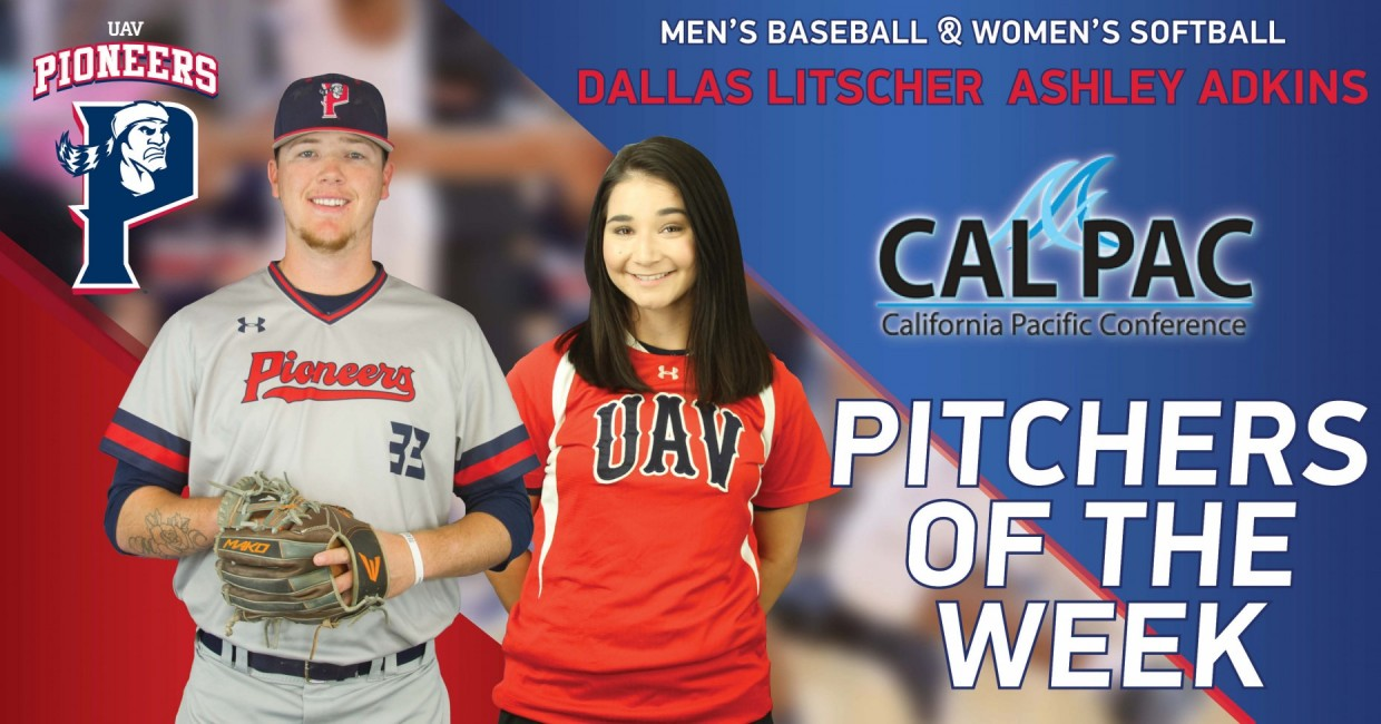 Photo for Pioneers Honored As CalPac Pitchers Of The Week