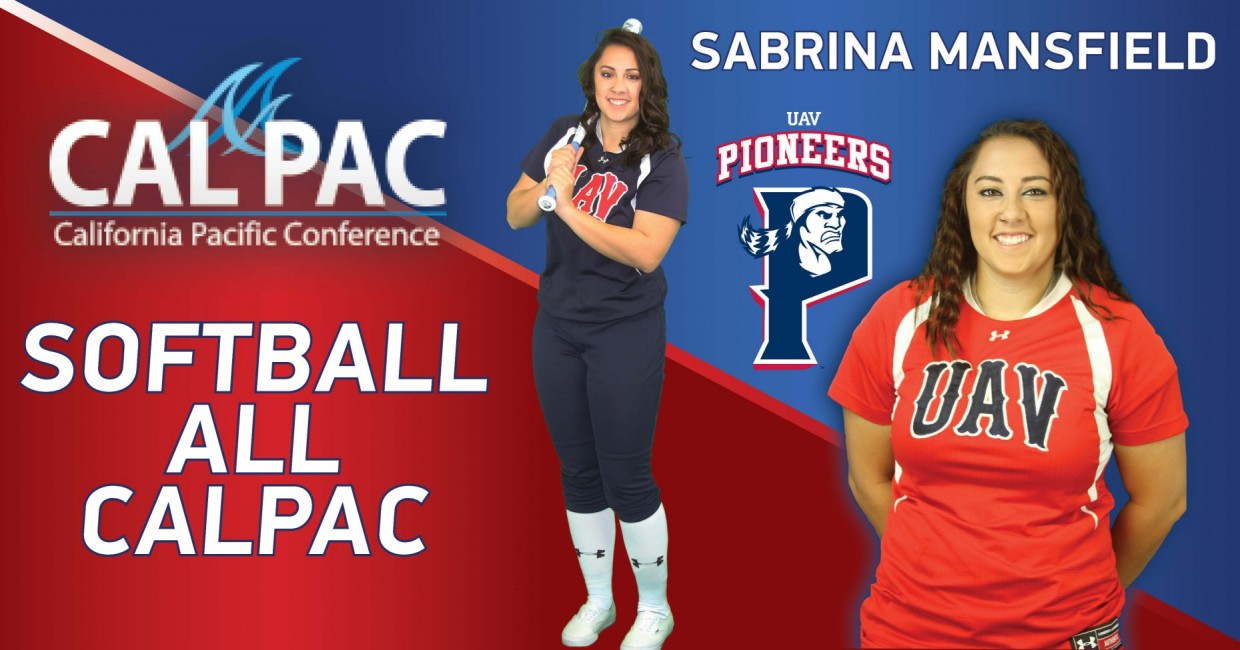 Photo for Sabrina Mansfield Receives All CalPac Honors